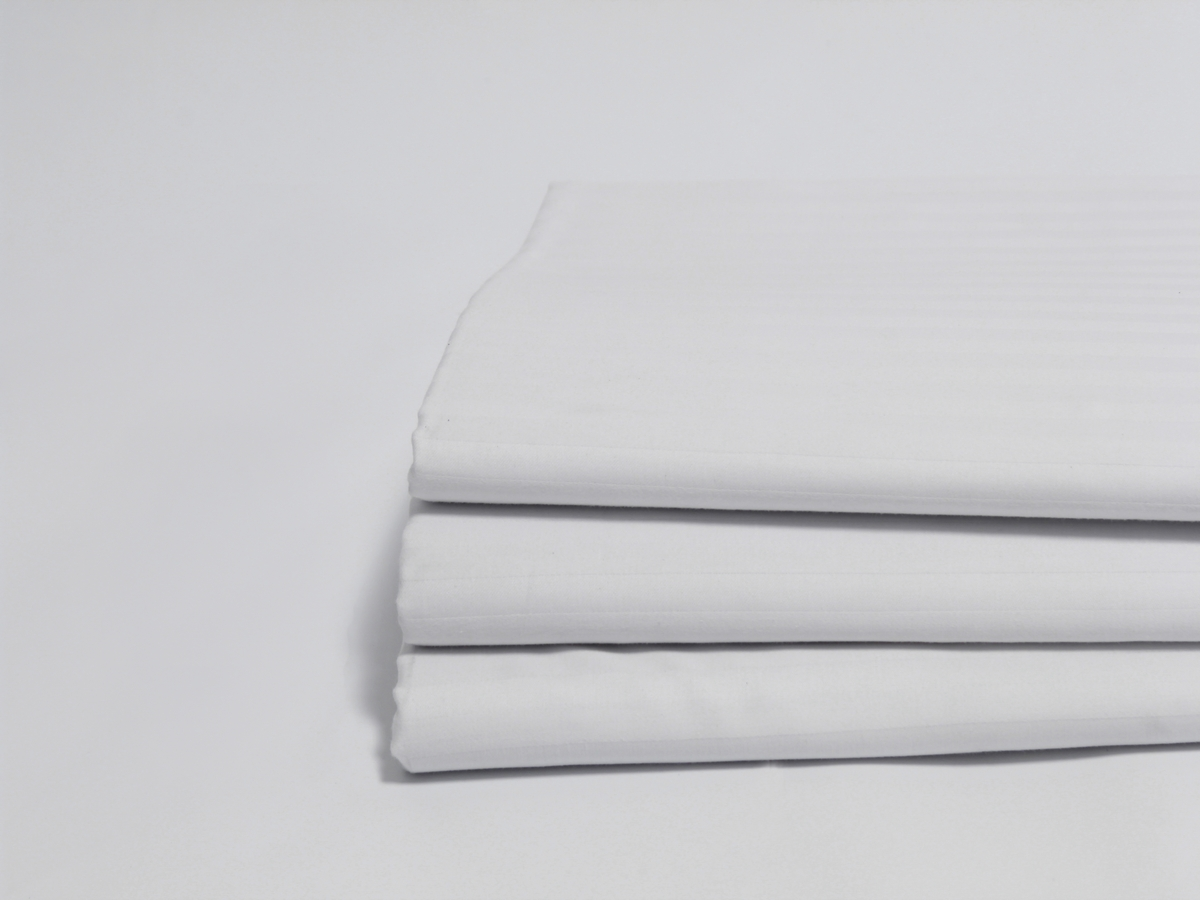 Be the first to review percale t 180 classic queen size flat sheets - Narrow Stripe White Sateen T 200 Flat Sheet Sheets Queen Size